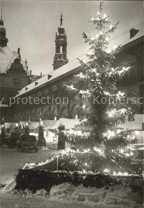 Dresden Striezelmarkt Kat. Dresden Elbe
