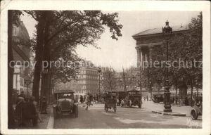 Paris Boulevard de la Madeleine et la Madeleine Kat. Paris