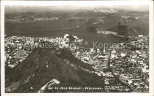 Rio de Janeiro Panorama Fliegeraufnahme Kat. Rio de Janeiro