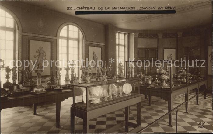 La Malmaison Chateau de la Malmaison Sourtout de Table Kat. La Malmaison