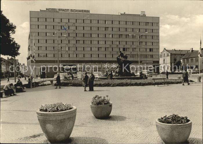 Schwerin Mecklenburg Hotel Stadt Schwerin Kat. Schwerin