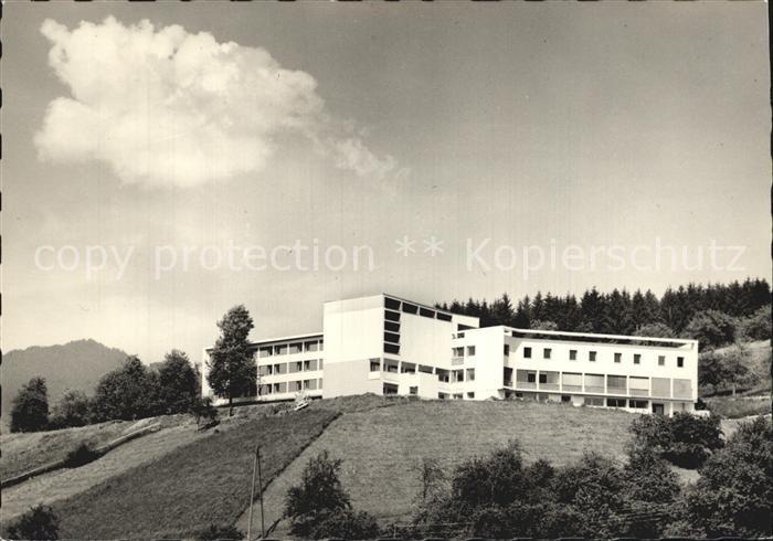 Batschuns Bildungshaus Pius XII Kat. Oesterreich