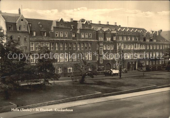 Halle Saale St Elisabeth Krankenhaus Kat. Halle