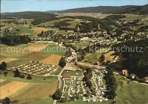Waldmichelbach Hoehenluftkurort im Odenwald Fliegeraufnahme Kat. Wald Michelbach