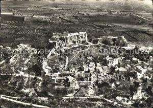Les Baux de Provence Village et les ruines vue aerienne Kat. Les Baux de Provence