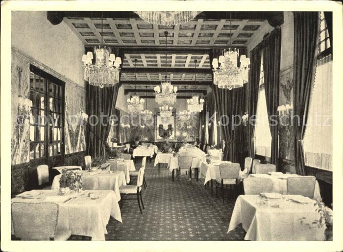 Wien Hotel Sacher Speisesaal Kat. Wien