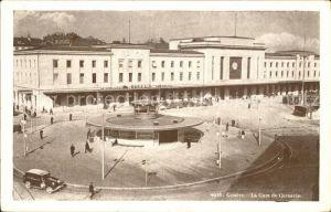 Geneve GE Gare de Cornavin Kat. Geneve