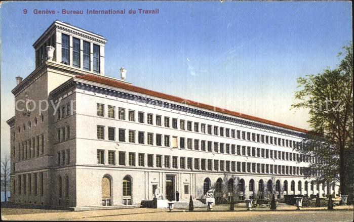 Geneve ge bureau international du travail kat. geneve nr. dp74264