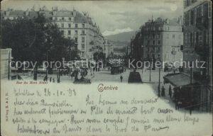 Geneve GE Rue du Mont Blanc Kat. Geneve