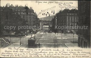 Geneve GE Rue du Montblanc Kat. Geneve