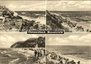 Koserow Ostseebad Usedom Strand  Kat. Koserow