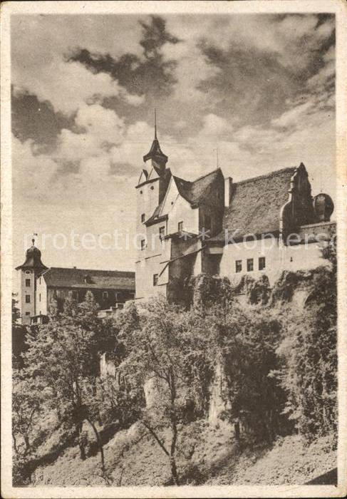 Glauchau Schloss Glauchau Kat. Glauchau