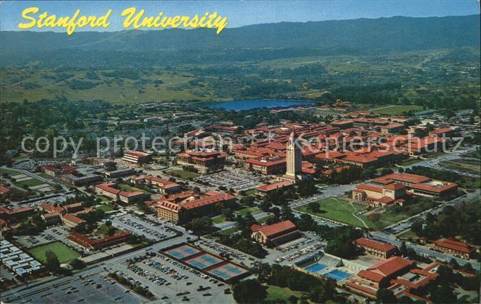 Palo Alto Fliegeraufnahme Stanfort University Kat. Palo Alto