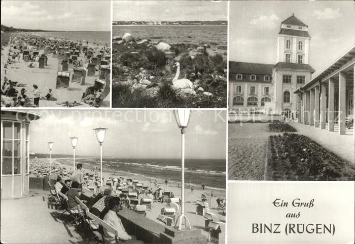 Binz Ruegen Strand Kat. Binz