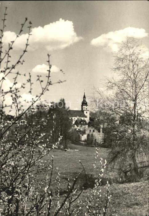 Treuen Kirche Kat. Treuen Vogtland