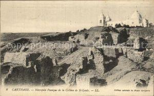 Carthage Karthago Necropole Punique de la Colline de St Louis Kat. Tunis