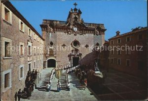 Lluc Santuario Patio Obispo Campins Kloster Kat. Mallorca