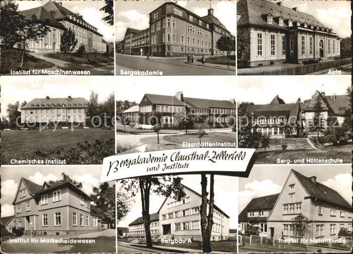 Clausthal Zellerfeld Bergakademie  Kat. Clausthal Zellerfeld