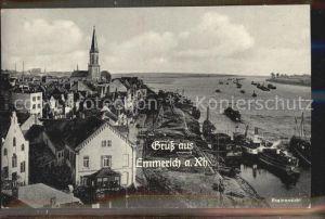 Emmerich Rhein Rheinpartie Kat. Emmerich am Rhein