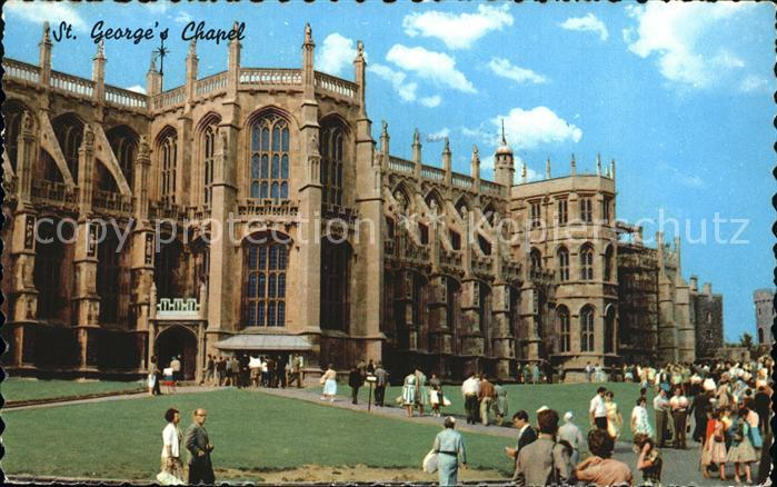 Windsor Castle Saint Georges Chapel Kat. City of London