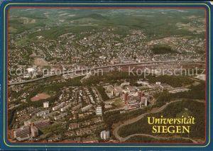 Geisweid Universitaet Siegen Fliegeraufnahme Kat. Siegen