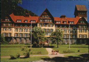 Tiefenbach Oberstdorf Sanatorium der LVA Schwaben Kat. Oberstdorf