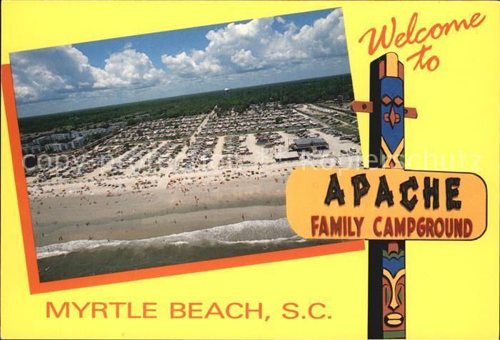 Myrtle Beach Apache Family Campground Kat. Myrtle Beach