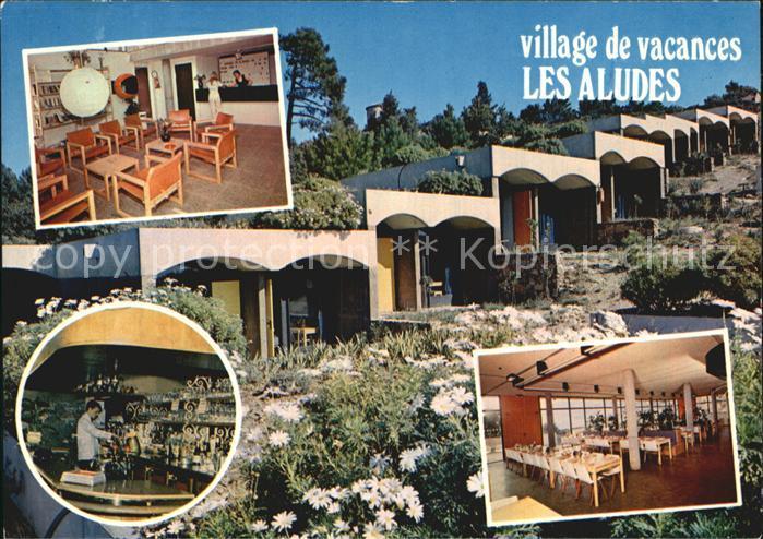La Garde Freinet Village de Vacances Les Aludes Bungalows Bar Accueil Restaurant Kat. La Garde Freinet