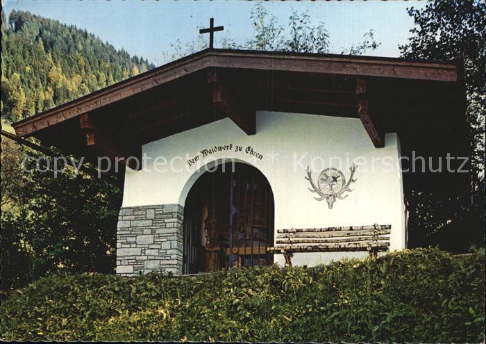 Mittersill Oberpinzgau Hubertuskapelle Kat. Mittersill