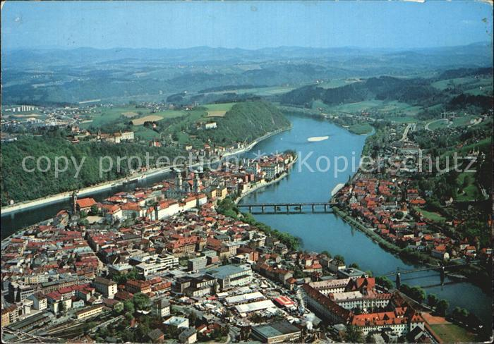 Passau Fliegeraufnahme / Passau /Passau LKR