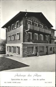 Grone Loye Auberge des Alpes / Grone /Bz. Sierre