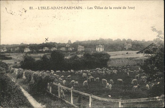 L Isle-Adam Parmain les Villas de la route de Jouy x / L Isle-Adam /Arrond. de Pontoise