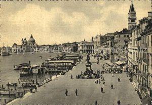Venezia Venedig Riva degli Schiavoni Monumento Kat.