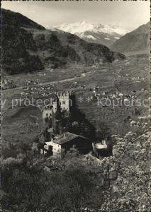Merano Suedtirol Castel Fontana Brunnenburg Alpen Kat. Merano