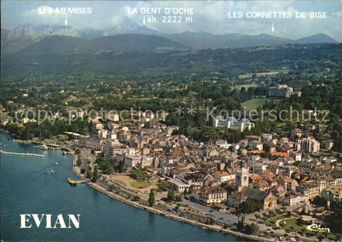 Evian les Bains Haute Savoie Vue generale aerienne Kat. Evian les Bains