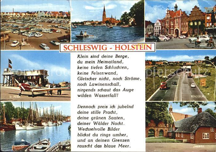 Schleswig Holstein Rendsburg Hafen Schleswig Kat. Schleswig
