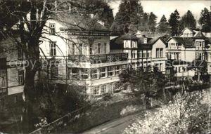 Friedrichroda Sanatorium Tannenhof Kat. Friedrichroda
