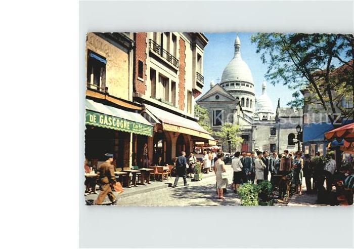 Paris Montmartre Kat. Paris