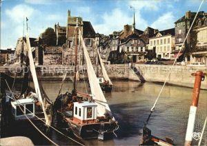 Honfleur La Lieutenance et le port Kat. Honfleur