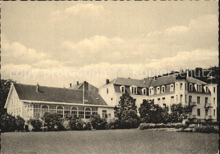 Bad Rothenfelde Kursanatorium Nollmann Kat. Bad Rothenfelde