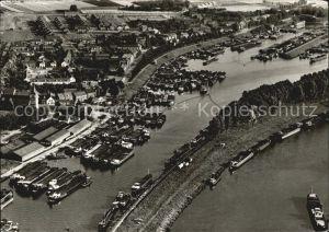 Maasbracht Haven Hafen Fliegeraufnahme