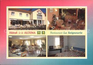 Pacy sur Eure Hotel Altina Restaurant La Seigneurie Kat. Pacy sur Eure