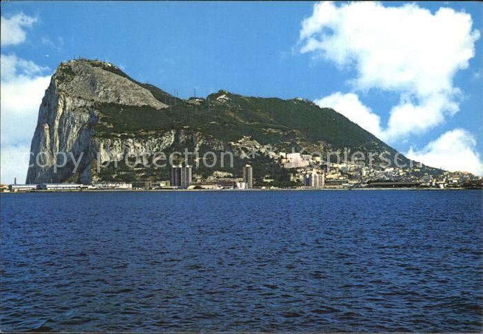 Algeciras Gibraltar Der Felsen Gibraltar Kat. Algeciras