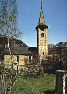 Zillis Kirche Sankt Martin Kat. Zillis