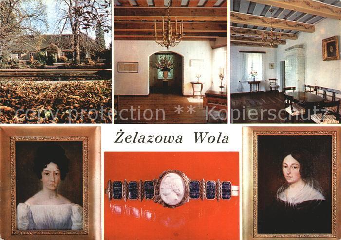 Zelazowa Wola Fryderyk Chopin Salonik muzyczny Fryderyka Chopina Zlota bransoleta z kamea na koralu Profil Chopina wg medalionu Bovy ego Kat. Sochaczew