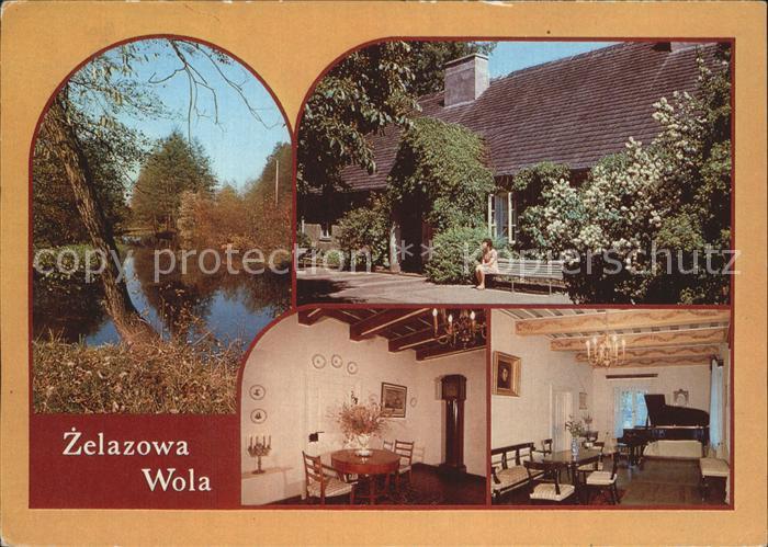 Zelazowa Wola Krajobraz okolic Fryderyk Chopin Salonik muzyczny Kat. Sochaczew