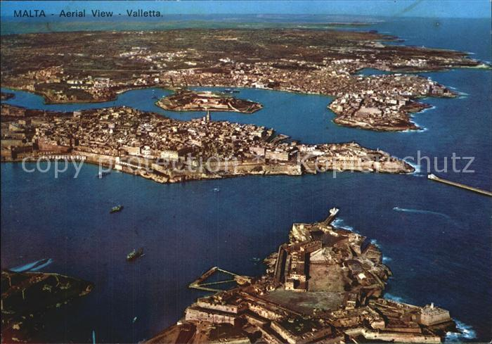 Malta Fliegeraufnahme Kat. Malta