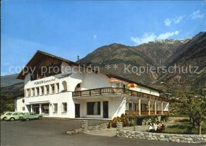 Goldrain Vinschgau Pension Gamperhof Kat.