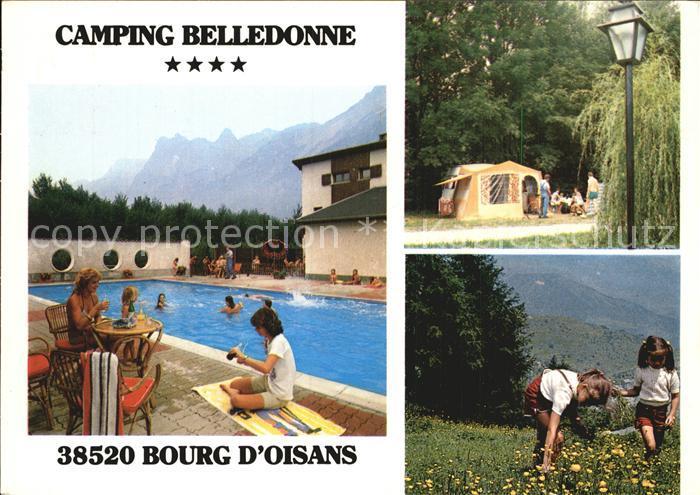 Bourg d Oisans Le Camping Belledonne Kat. Le Bourg d Oisans