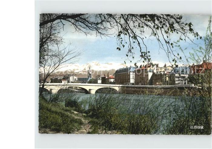 Grenoble Pont Marius Gontard Eglise St Andre  Kat. Grenoble